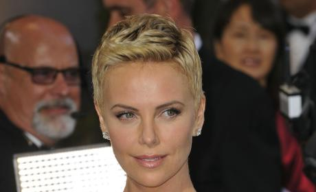 Charlize Theron Oscars Dress