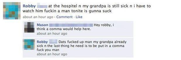Comma vs. Coma