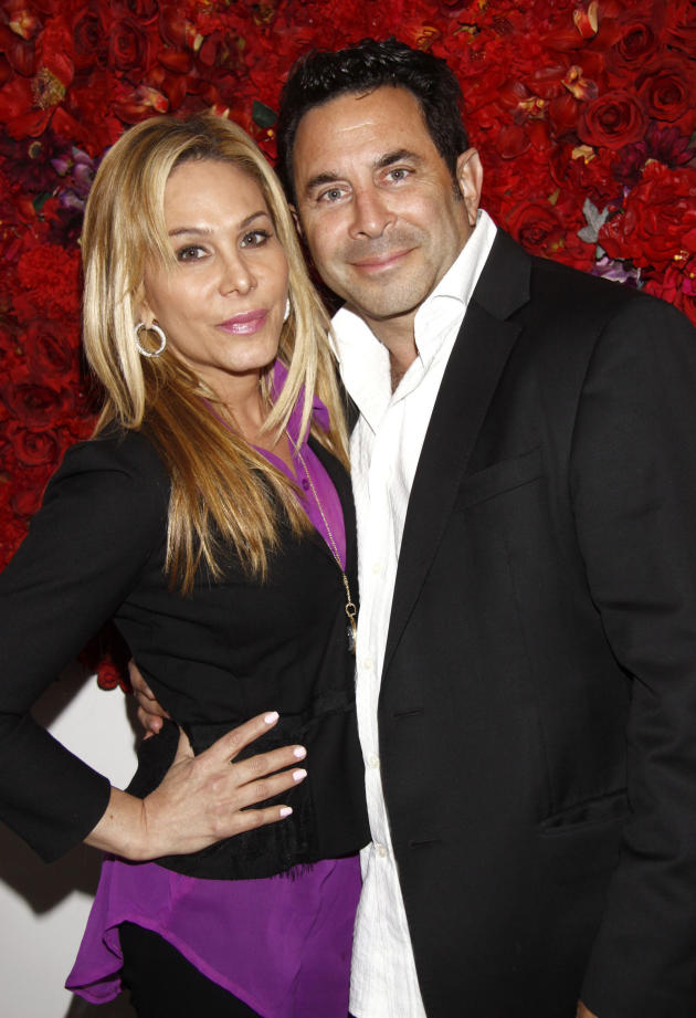 Adrienne Maloof and Dr. Paul Nassif