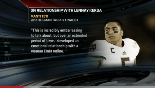 Manti Te'o statement