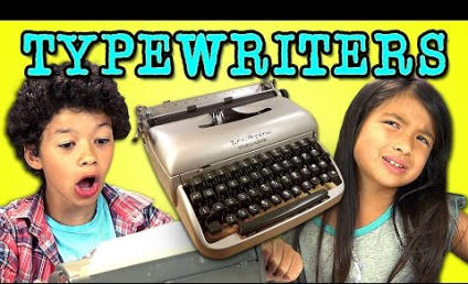 Kids React to Typewriter: Why is This So HARD?