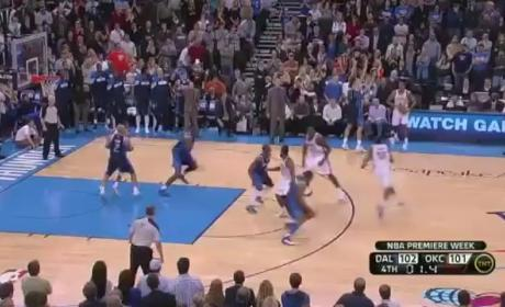 Kevin Durant Buzzer-Beater Beats Mavericks (VIDEO)
