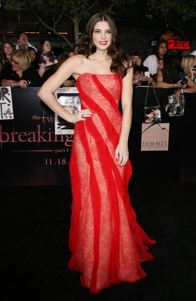 Ashley Greene at Breaking Dawn Premiere
