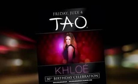Khloe Kardashian Turns 30!