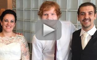 Ed Sheeran: His Surprise Wedding Performance!