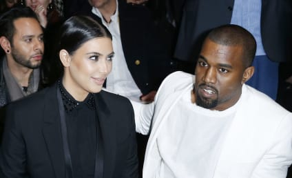 Kim & Kanye: Fighting Over Saint West's Photo Debut!!!