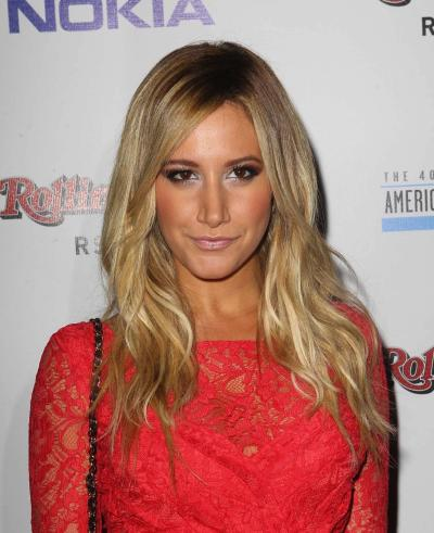 Ashley Tisdale Red Carpet Pose