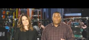 Tina Fey Mocks Nip Slip, Goes Topless in SNL Promo