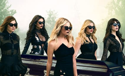 Pretty Little Liars Poster: Putting the FUN in Funeral!