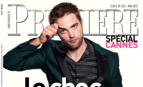 Robert Pattinson Parade Cover