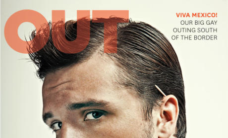 Josh Hutcherson Out Cover