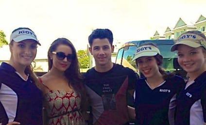 Olivia Culpo: Spotted Smooching Nick Jonas!