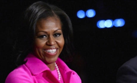 Michelle Obama or Ann Romney: Whose pink outfit was best?