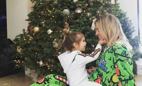 Khloe Kardashian and Penelope Disick's Christmas Picture