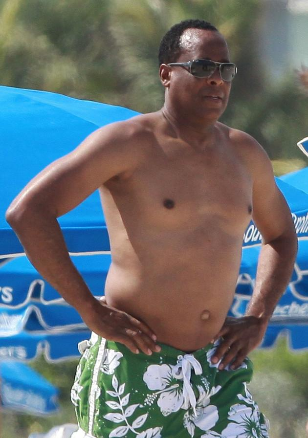 Dr. Conrad Murray Shirtless