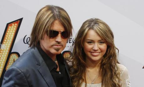 Billy Ray Cyrus Supports Miley