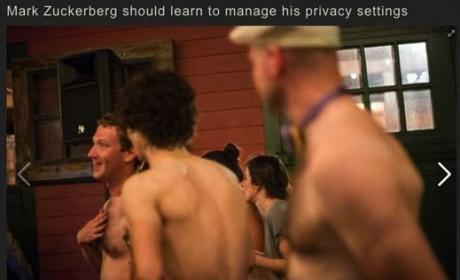 Mark Zuckerberg: Shirtless Pic Leaked on Facebook!