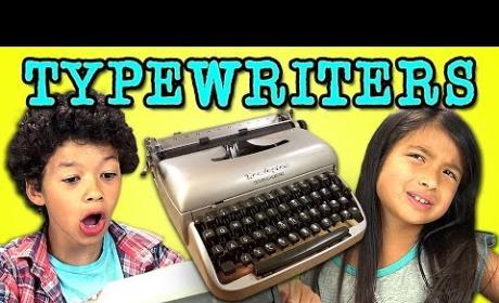 Kids React to Typewriter