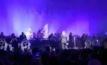 Justin Timberlake Debuts New Tracks at Pre-Super Bowl Concert