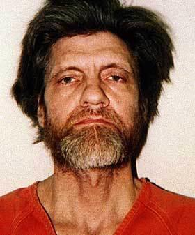 Ted Kaczynski (Unabomber) Mug Shot