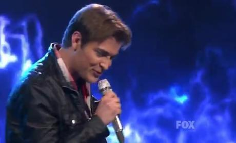 Chase Likens Makes Like Brendan Frazer on American Idol