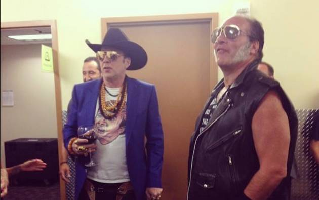 Nicolas Cage and Guns N Roses