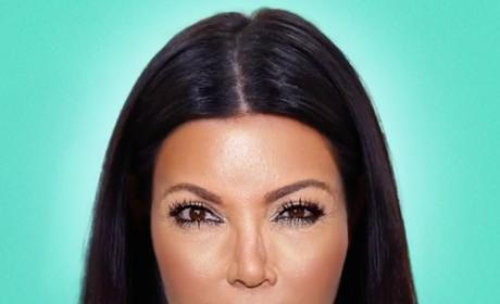 Kim Kardashian transforms into Kris Jenner video still