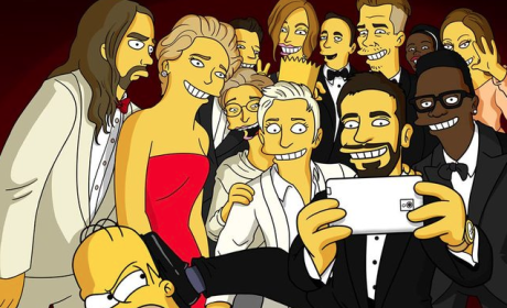 Oscars Selfie Gets the Homer Simpson, LEGO Treatment