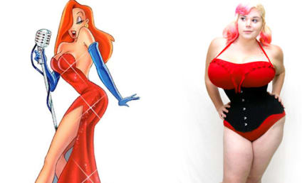 Human Jessica Rabbit: Woman Undergoes Plastic Surgery to Resemble Busty Cartoon Character