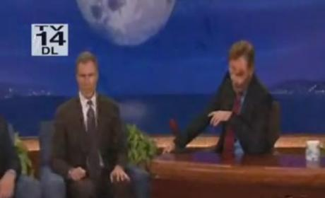 Will Ferrell Shaves Conan O'Brien's Beard