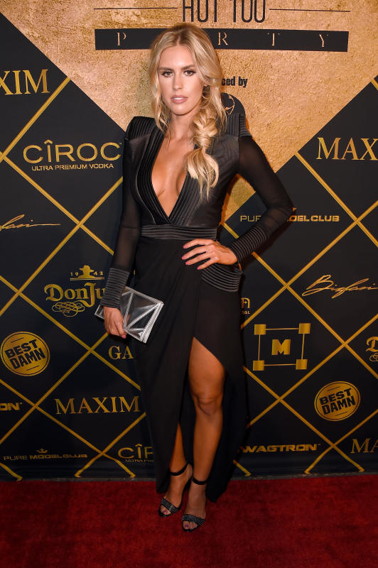 Kayla rae reid at maxim party