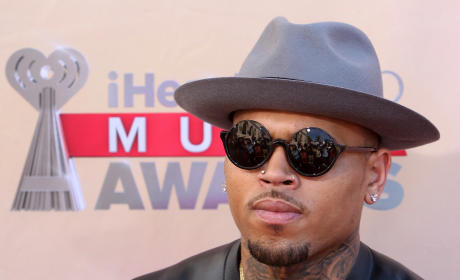 Chris Brown Talks About His Junk, Rides Futuristic Skateboard Thing