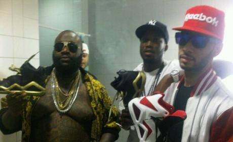 Rick Ross: FIRED By Reebok!