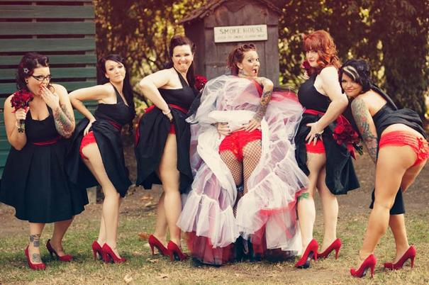 Naughty Bridesmaids