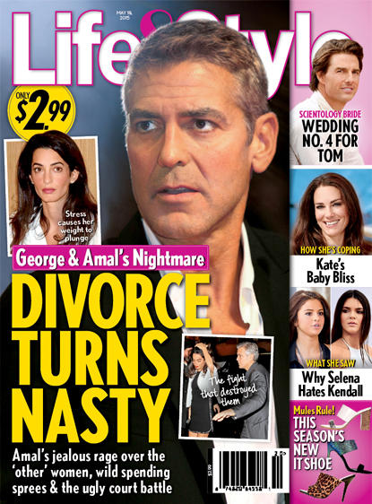 George Clooney Divorce: How Nasty Will It Get?!? - The ...