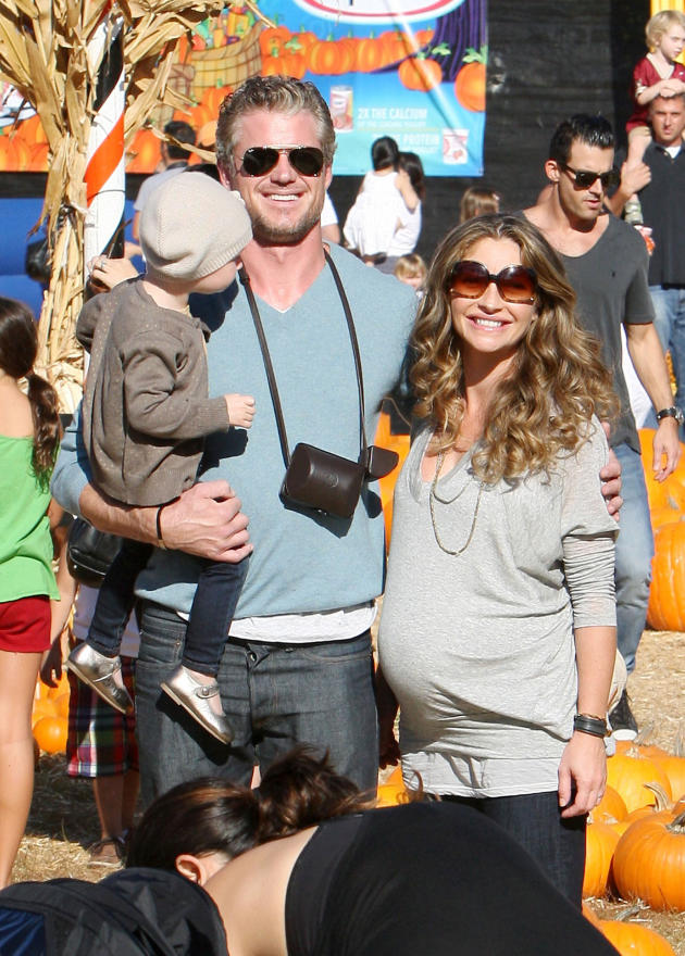 Eric Dane, Rebecca Gayheart, Daughter