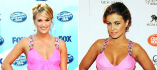 Fashion Face-Off: Carrie Underwood vs. Carmen Electra