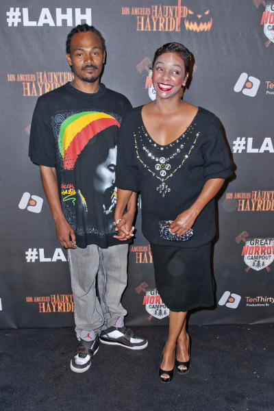 Lark Voorhies gets married