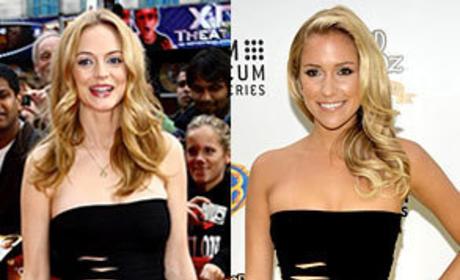 Who looked better, Heather Graham or Kristin Cavallari?