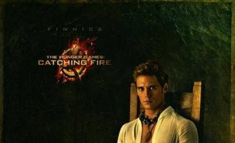 Sam Claflin as Finnick Odair: New Catching Fire Portrait