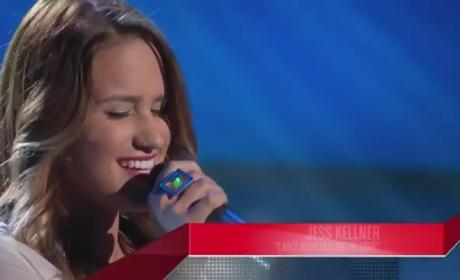 Jess Kellner - The Voice Blind Audition