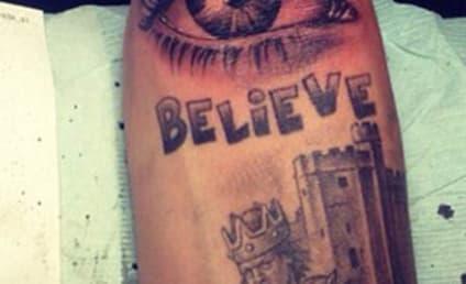 New Justin Bieber Tattoo: The Eye Has It