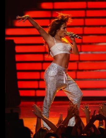 Jennifer Lopez on American Idol Finale