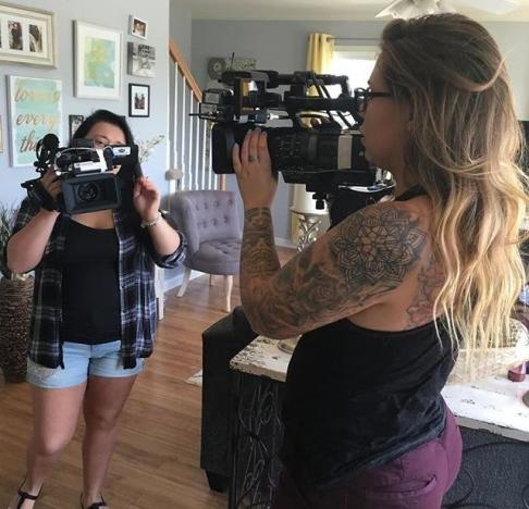 Kailyn Lowry Behind the Scenes