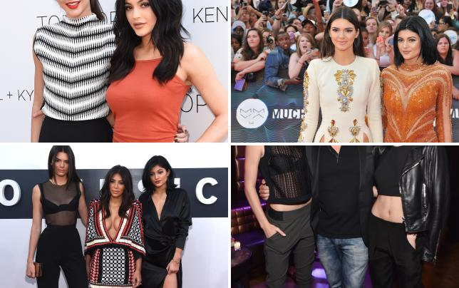 Kendall plus kylie fashion line launch party at topshop