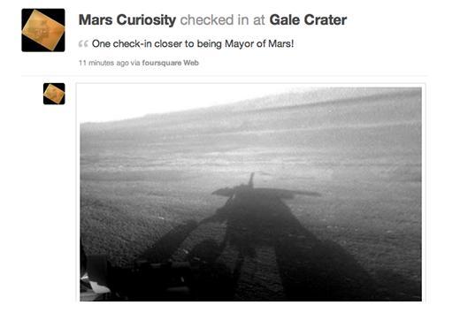 Mars Curiosity on Foursquare