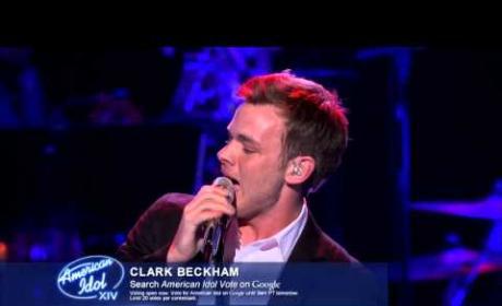 """Clark Beckham – """"When a Man Loves a Woman"""""""