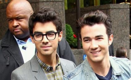 Jonas Brothers Promote Jonas Brothers Tour Book