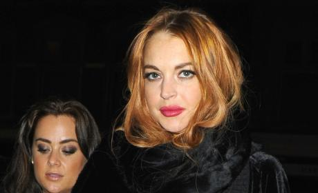Lindsay Lohan: Still Partying Like a Madman