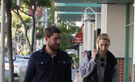 Whitney Port and Tim Rosenman Shop in Beverly Hills